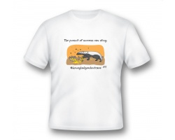 Men's t-shirt - honey badger